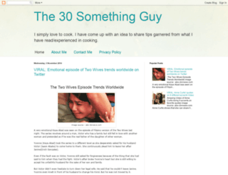 the30somethingguy.blogspot.com screenshot