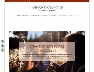 the36thavenue.com screenshot