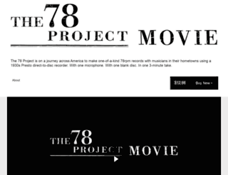 the78projectmovie.vhx.tv screenshot