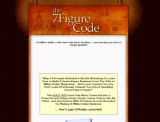 the7figurecode.com screenshot