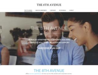 the8thavenue.com screenshot