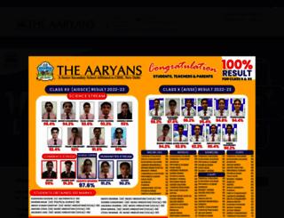 theaaryans.com screenshot