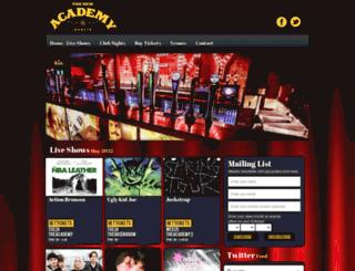 theacademydublin.com screenshot