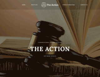 theaction.org screenshot