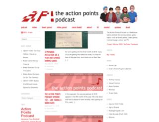 theactionpointspodcast.com screenshot