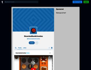 theactualkankrivantas.tumblr.com screenshot