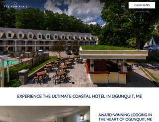 theadmiralsinn.com screenshot
