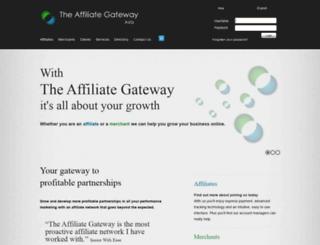 theaffiliategateway.asia screenshot