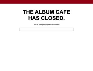 thealbumcafe.com screenshot