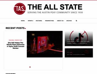 theallstate.org screenshot