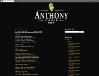 theanthonycumiashow.blogspot.com screenshot
