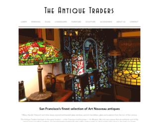 theantiquetraders.com screenshot