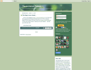 thearchdruidreport.blogspot.hu screenshot
