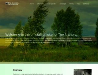 thearchers.co.uk screenshot