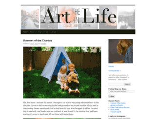 theartinlife.wordpress.com screenshot