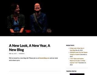 theaterjblogs.wordpress.com screenshot