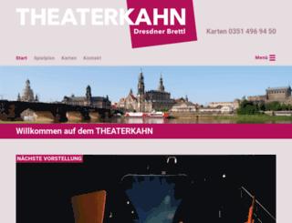 theaterkahn.de screenshot