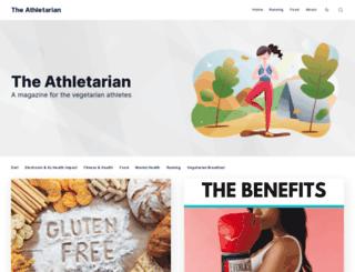 theathletarian.com screenshot