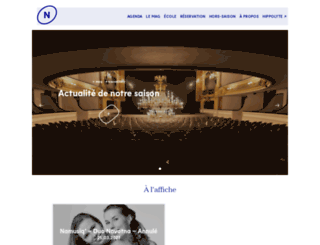 theatredenamur.be screenshot
