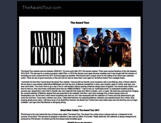 theawardtour.com screenshot