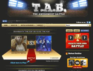 theawesomestbattle.com screenshot
