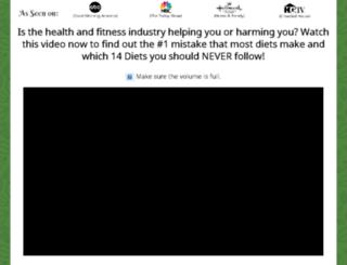 theayurvedicbalancedietclub.com screenshot