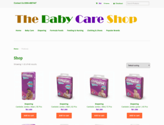 thebabycareshop.com screenshot