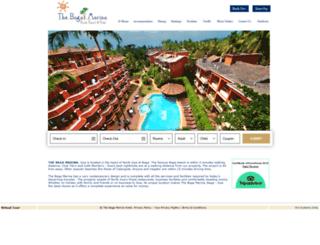 thebagamarina.com screenshot