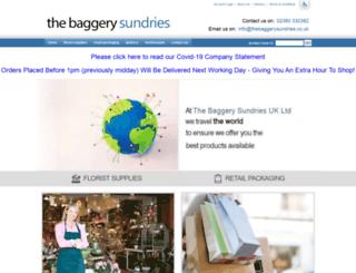 thebaggery.co.uk screenshot