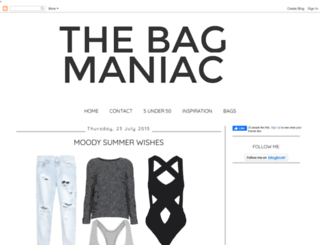 thebagmaniac.blogspot.it screenshot