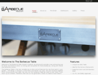 thebarbecuetable.com screenshot