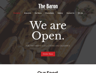 thebaron.co.za screenshot