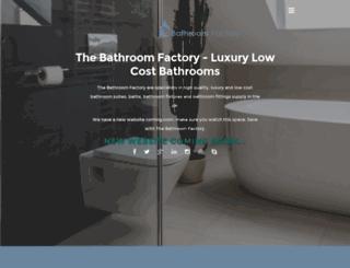 thebathroomfactory.com screenshot