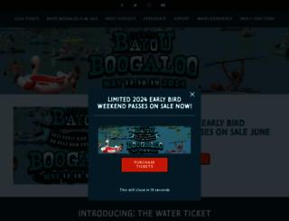 thebayouboogaloo.com screenshot