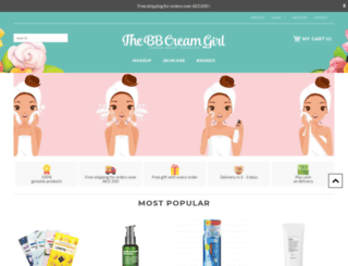 thebbcreamgirl.com screenshot