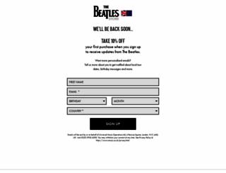 thebeatlesonline.co.uk screenshot