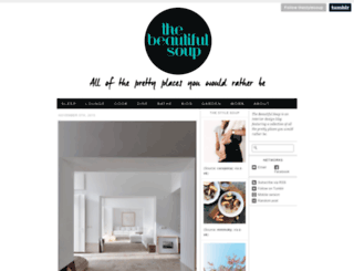 thebeautifulsoup.com screenshot