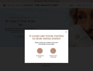 thebeautychef.com screenshot