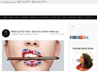 thebeautypedia.com screenshot