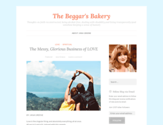 thebeggarsbakery.net screenshot