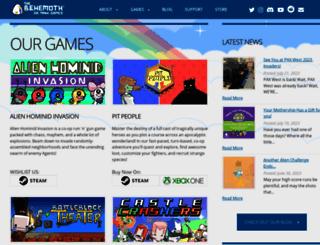 thebehemoth.com screenshot