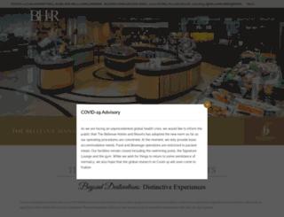thebellevue.com screenshot