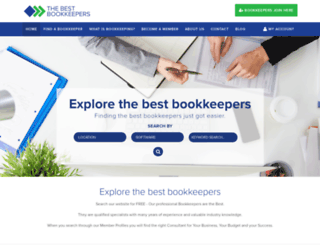 thebestbookkeepers.com.au screenshot