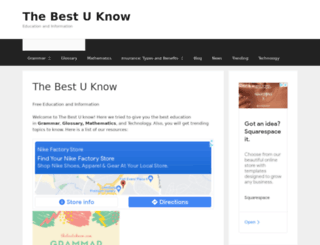 thebestuknow.com screenshot