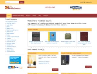 thebiblesource.com screenshot