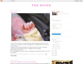 thebiche.blogspot.com screenshot