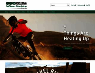 thebicyclechain.com screenshot