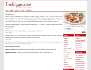 thebigger.com screenshot