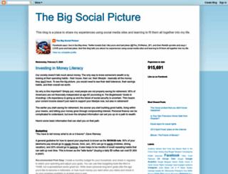 thebigsocialpicture.blogspot.com screenshot