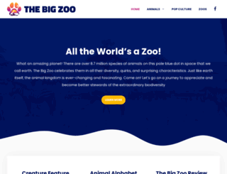 thebigzoo.com screenshot